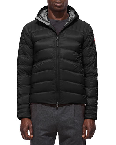 Men's Brookvale Quilted Hoodie Puffer Jacket