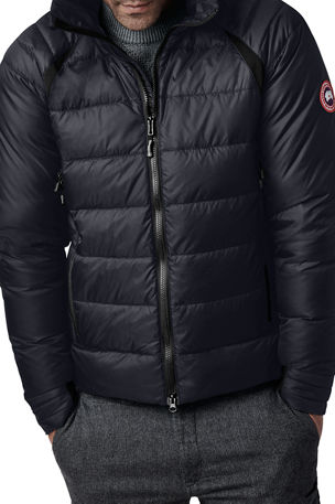 Canada Goose Men's HyBridge Hooded Down Puffer Base Jacket