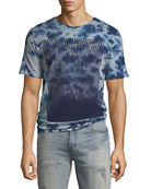 PRPS Men's Flocked Logo Graphic T-Shirt