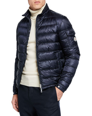 2970a8468 Men's Designer Coats & Jackets at Neiman Marcus