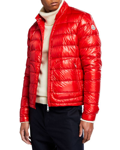 Men's Acorus Quilted Stretch Down Jacket