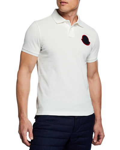 8a503c9df Quick Look. Moncler · Men's Maglia Manica Corta Polo Shirt