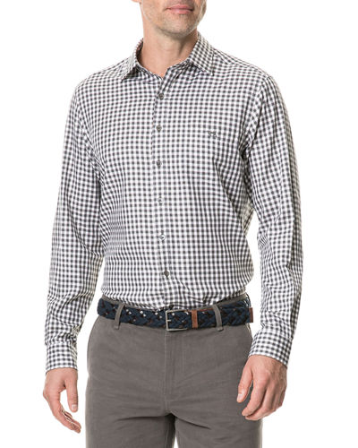Rodd & Gunn Men's Botany Downs Grid-Print Sport Shirt
