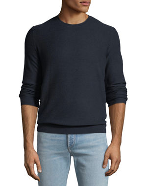 cc7539de2081 Striped   Textured Crewneck Sweaters at Neiman Marcus