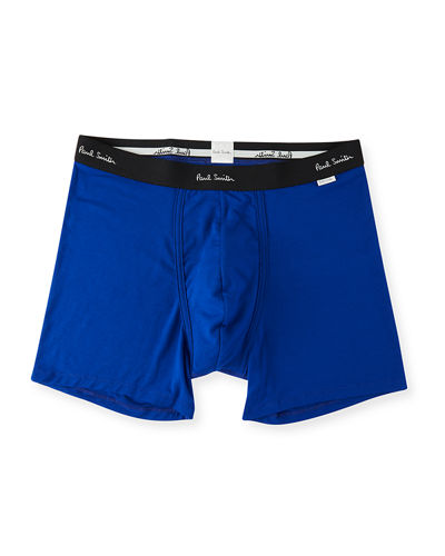 Men's Solid Jersey Trunk Boxer Briefs