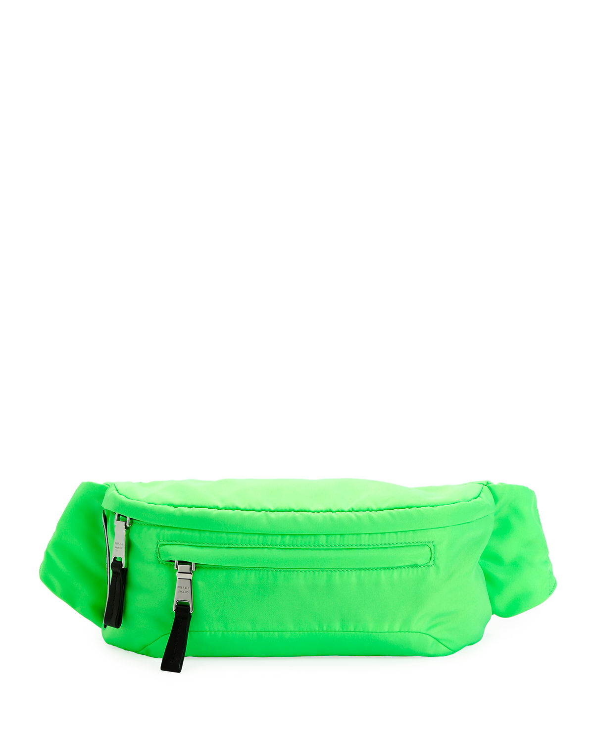 8309c1b8a983 Prada Men s Nylon Belt Bag Fanny Pack with Fluorescent Lining ...