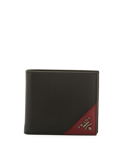 856bbc166aa6 Quick Look. Prada · Men's Saffiano Leather Wallet. Available in Black