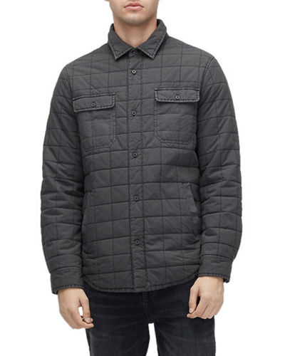 UGG Men's Trent Quilted Shirt Jacket
