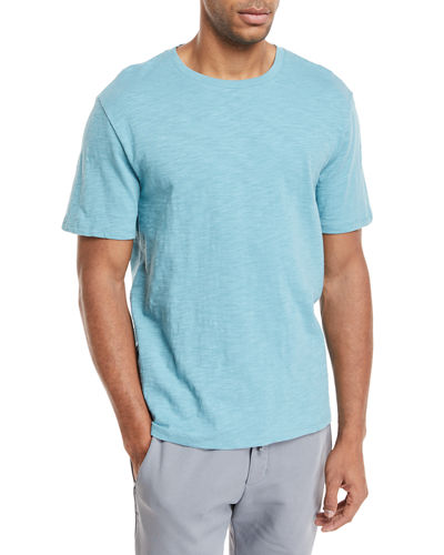 Solid Crewneck Jersey T-Shirt