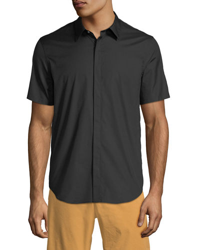 Men's Irving Poplin Short-Sleeve Sport Shirt