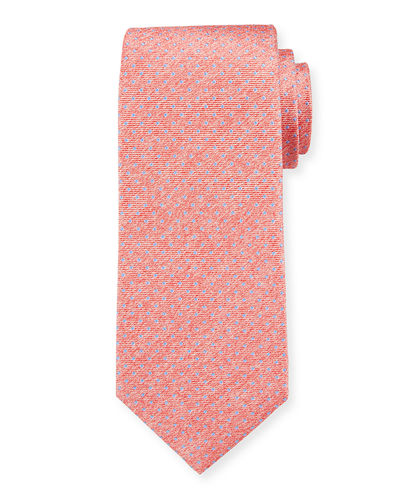 Men's Silk Pin Dot Tie