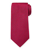 Charvet Men's Silk Small Waves Tie