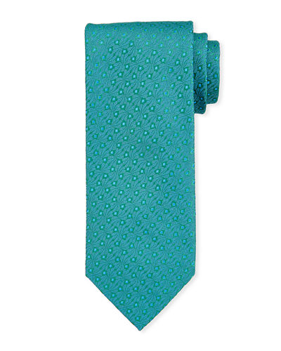 Small Dot Silk Tie