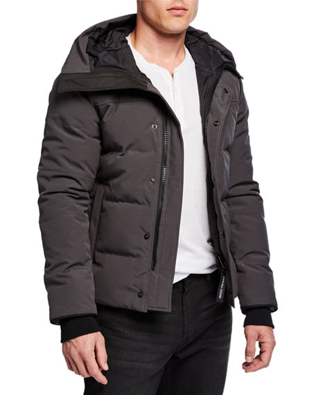 Canada Goose Men S Macmillan Parka Coat - Fusion Fit In Dark Gray ... 3cd095f0c3