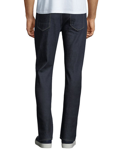 Hudson Men's Blake Slim-Straight Jeans, Dark Blue