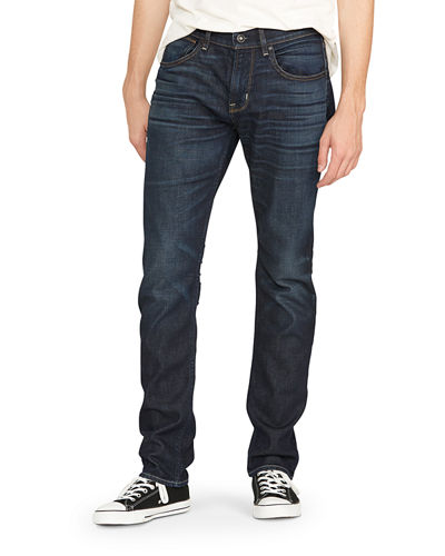 Men's Blake Slim-Straight Jeans, Dark Blue