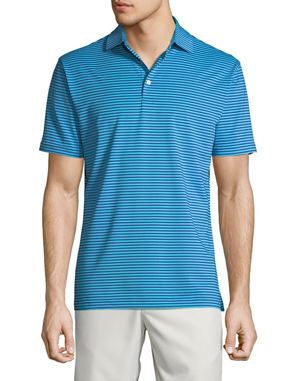 a543ca6f Peter Millar Men's Competition Striped Polo Shirt. Favorite. Quick Look
