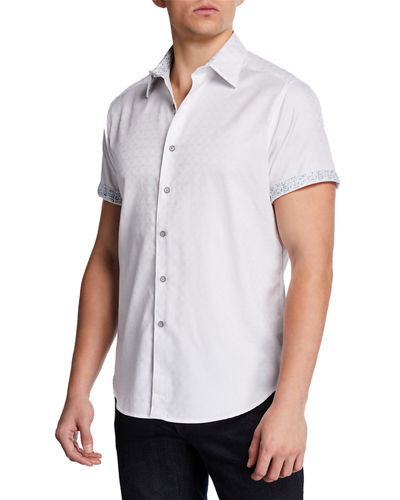 Men's Egyptian Cotton Button Shirt