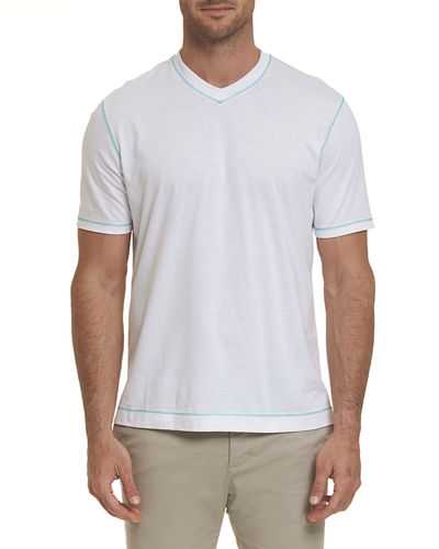 Men's Maxfield Short-Sleeve V-Neck Shirt