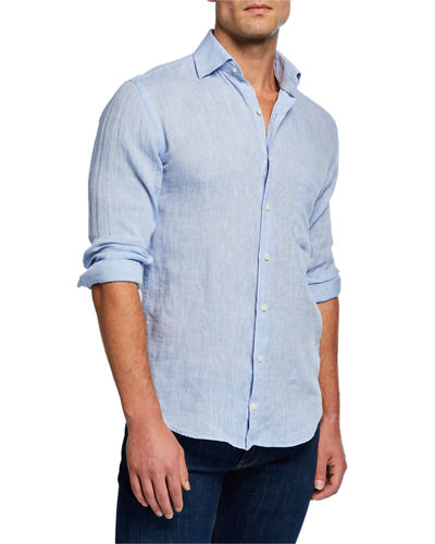fc5c681a71a7 Peter Millar Blue Shirt