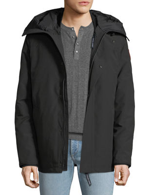 Men'S Garibaldi 3-In-1 Parka Coat in Black