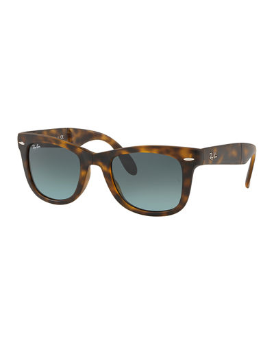 Men's Wayfarer Folding Sunglasses