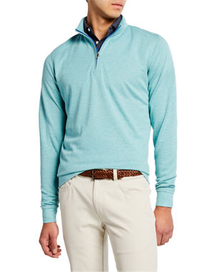 3c40b2135b Peter Millar Men s Crown Comfort Interlock Zip Sweater