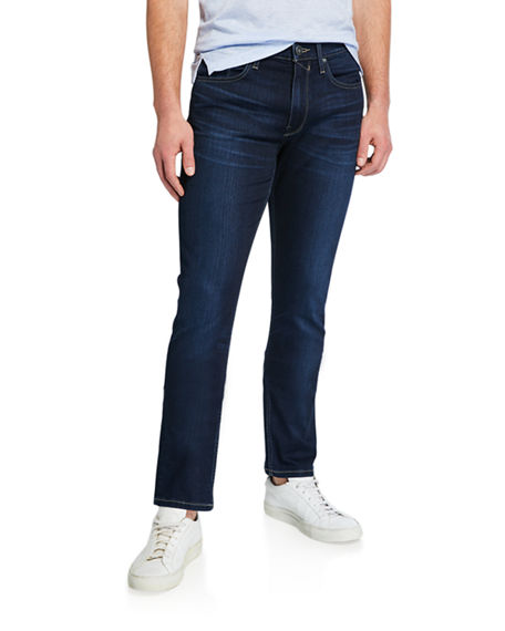 PAIGE Men's Federal Slim-Straight Jeans, Kaden