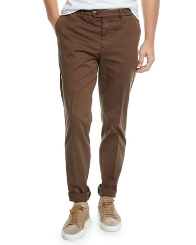 Men's Basic Fit Chino Pants