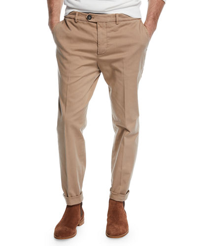 756c321ea82b Quick Look. Brunello Cucinelli · Men's Basic Fit Chino Pants