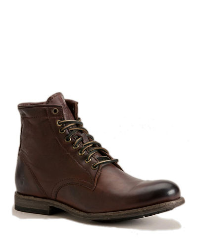 Men's Tyler Lace-Up Leather Boots