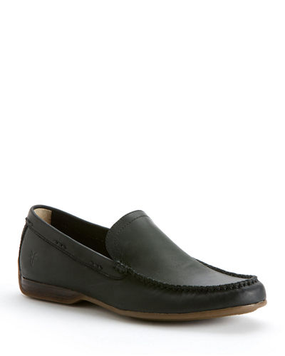 Men's Lewis Leather Slip-On Venetian Loafers