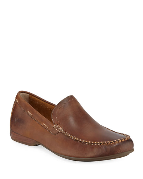 Frye Men's Lewis Leather Slip-On Venetian Loafers
