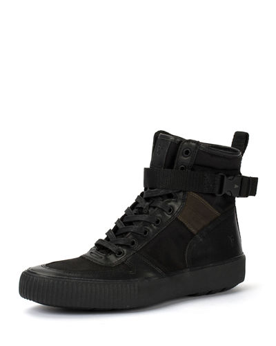 Men's Combat Lace-Up Boots
