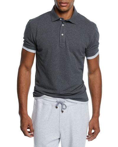 Men's Trim Layer Polo Shirt