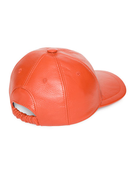 935b080948798 Image 2 of 2  Stefano Ricci Men s Deerskin Leather Baseball Cap