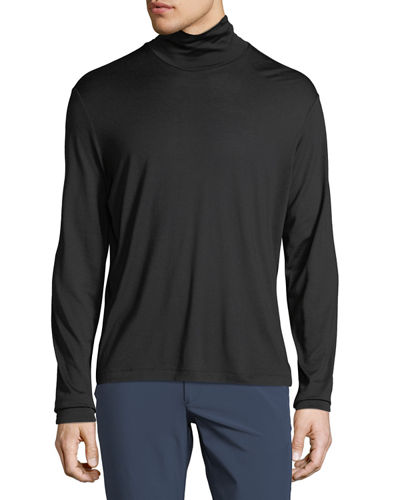 Men's Plaito Funnel Neck Shirt