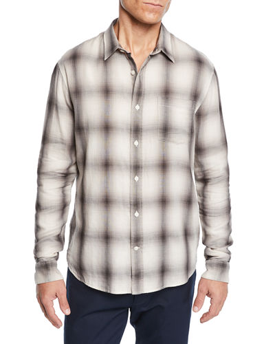 Men's Double Face Plaid Shirt