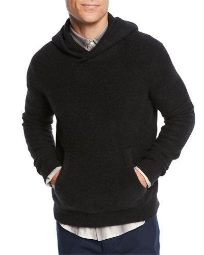 Men's Cashmere Pullover Hoodie