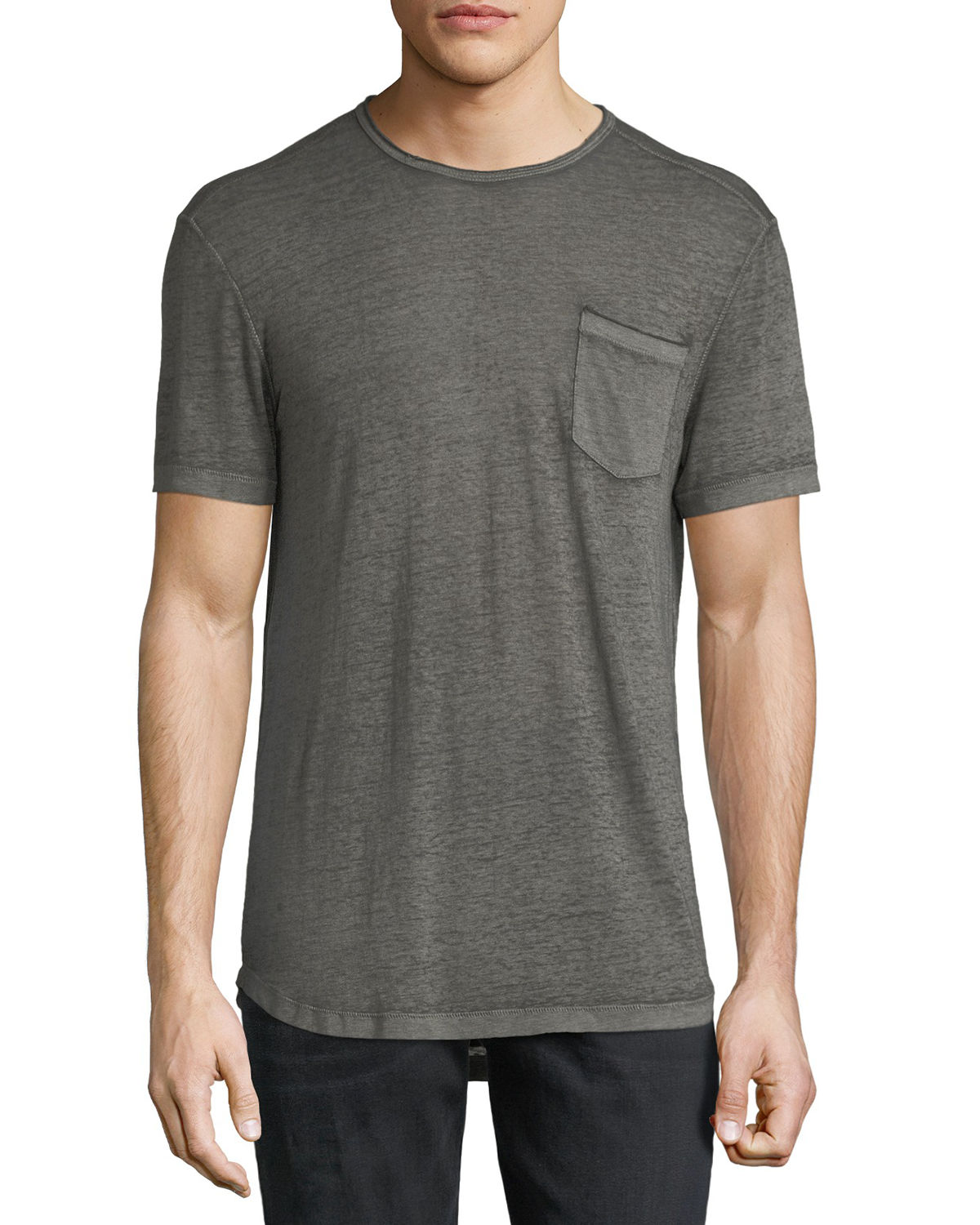 76d0ff564 John Varvatos Star USA Men's Burnout T-Shirt | Neiman Marcus