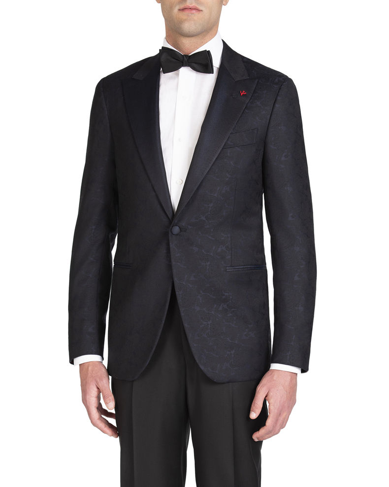Isaia Men's Formal Paisley Jacket