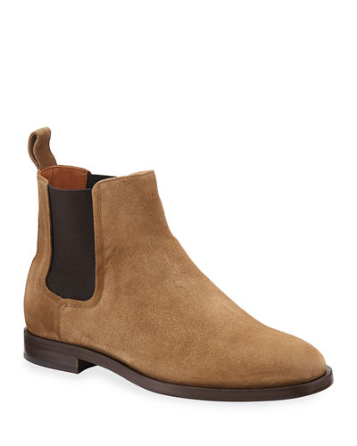 bfd4fb2b611 Suede Chelsea Boots | Neiman Marcus