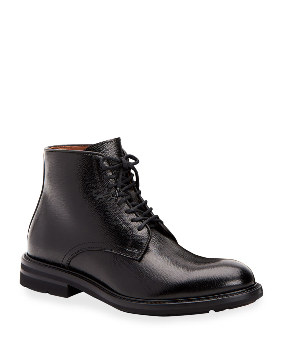 Men's Renzo Waterproof Leather Lace-Up Boots