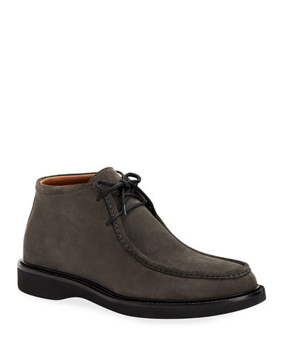 Men's Kyle Suede Lace-Up Chukka Boots