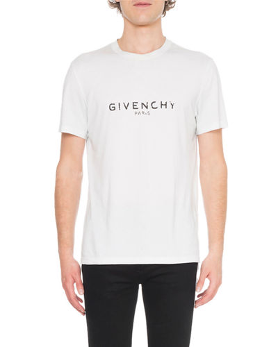 Men's Distressed Logo T-Shirt