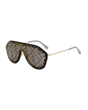 fc344460d5 Fendi Men s FF Shield Sunglasses