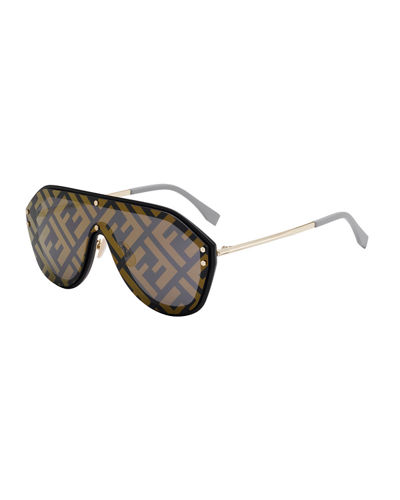 e4ab696bda Quick Look. Fendi · Men s FF Shield Sunglasses