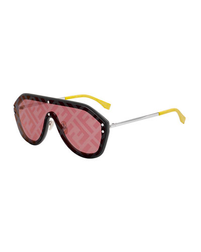 Men's FF Shield Sunglasses