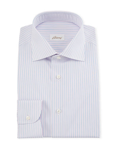 Men's Multi-Stripe Dress Shirt