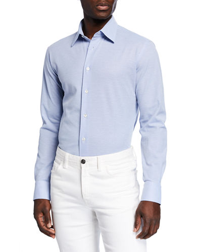 Men's Solid Pique Sport Shirt